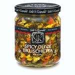 Sable & Rosenfeld Spicy Olive Bruschetta   James Anthony Collection