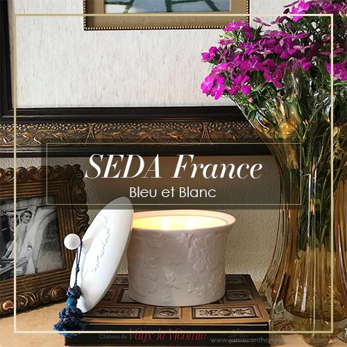 SEDA France Bleu et Blanc Collection | James Anthony Collection