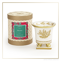 SEDA France Holiday Classic Toile Petite Ceramic Candle | James Anthony Collection