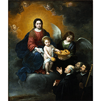 The Infant Christ Distributing Bread to the Pilgrims - James Anthony Collection