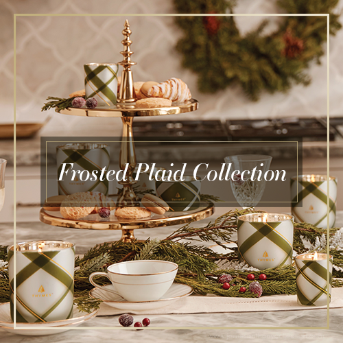 Thymes Frosted Plaid Collection