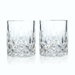 Viski Admiral Crystal Tumblers | James Anthony Collection