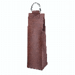 Viski Admiral Brown Wine Tote   James Anthony Collection
