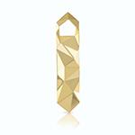 Viski Belmont Faceted Gold Bottle Opener | James Anthony Collection