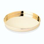 Viski Belmont Gold Serving Tray   James Anthony Collection