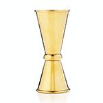 "Viski Belmont Small Japanese Style Gold ""Makoto"" Jigger | James Anthony Collection"