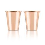 Viski Summit Solid Copper Shot Glasses | James Anthony Collection