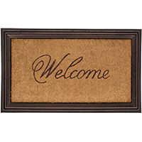 Whitehall Essex Coir Welcome Mat - UPC: 719455460016 | James Anthony Collection
