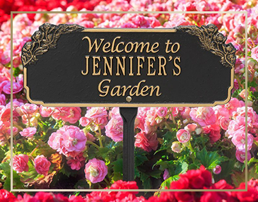 Whitehall Personalized Garden & Lawn Plaques - James Anthony Collection