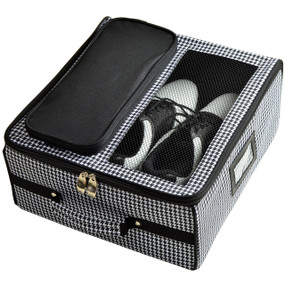 Picnic at Ascot Golf Trunk Organizer - Houndstooth | James Anthony Collection