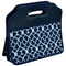Picnic at Ascot Folding Trunk Organizer - Blue Trellis | James Anthony Collection