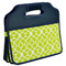Picnic at Ascot Folding Trunk Organizer - Green Trellis | James Anthony Collection