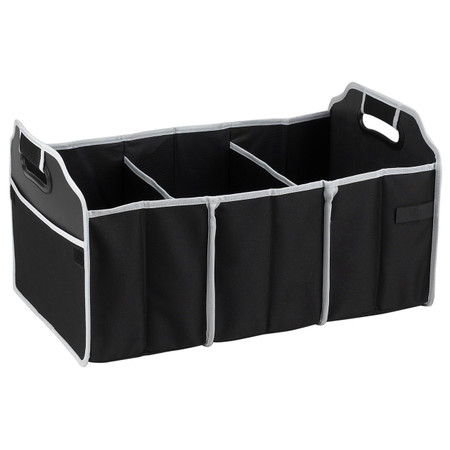 Picnic at Ascot Folding Trunk Organizer - Black | James Anthony Collection