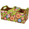 Picnic at Ascot Folding Trunk Organizer w/Cooler - Floral | James Anthony Collection