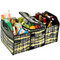 Picnic at Ascot Folding Trunk Organizer w/Cooler - Paris | James Anthony Collection