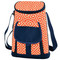 Picnic at Ascot 2 Bottle Wine & Cheese Cooler - Diamond Orange | James Anthony Collection