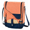 Picnic at Ascot Insulated Wine and Cheese Cooler for 2 - Diamond Orange | James Anthony Collection
