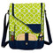 Picnic at Ascot Insulated Wine and Cheese Cooler for 2 - Trellis Green | James Anthony Collection
