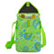 Picnic at Ascot Insulated 2 Bottle Wine Tote w/Shoulder Strap - Paisley Green | James Anthony Collection