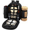 Picnic at Ascot - Deluxe Equipped 2 Person Picnic Backpack w/Cooler, Insulated Wine Holder & Blanket - London | James Anthony Collection