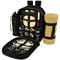 Picnic at Ascot - Deluxe Equipped 2 Person Picnic Backpack w/Cooler, Insulated Wine Holder & Blanket - Paris | James Anthony Collection