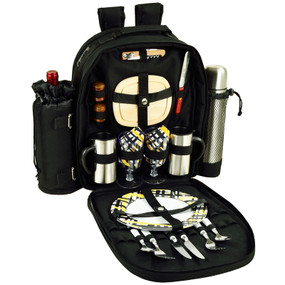Picnic at Ascot 2 Person Picnic Backpack w/Coffee Service - Paris | James Anthony Collection