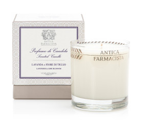 Antica Farmacista Lavender & Lime Blossom Scented Candle | James Anthony Collection