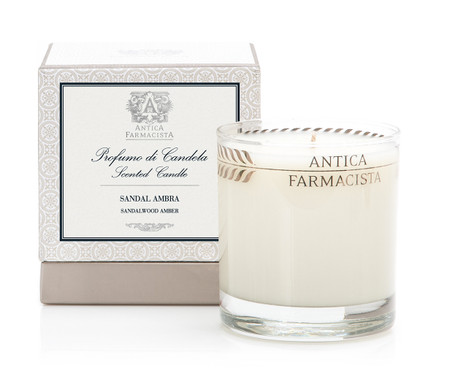 Antica Farmacista Sandalwood Amber Scented Candle | James Anthony Collection