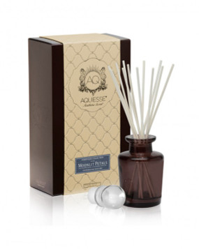 Aquiesse Moonlit Petals Apothecary Reed Diffuser Gift Set | James Anthony Collection