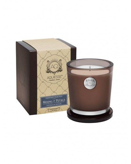 Aquiesse Moonlit Petals Large Candle | James Anthony Collection