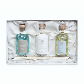 Antica Farmacista Acqua, Lush Palm, and Bergamot & Ocean Aria Trio | James Anthony Collection
