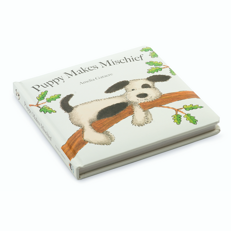 Jellycat Book -  Puppy Makes Mischief | James Anthony Collection