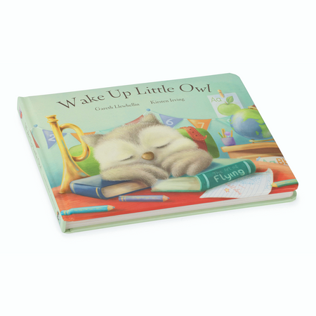 Jellycat Book -  Wake Up Little Owl | James Anthony Collection