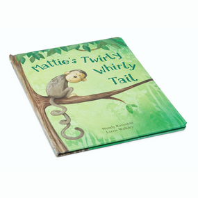 Jellycat Book -  Mattie's Twrily Wirly Tail | James Anthony Collection