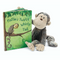 Jellycat Book -  Mattie's Twrily Wirly Tail w/ Mattie Monkey Plushie | James Anthony Collection