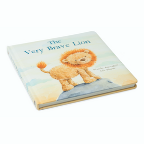 Jellycat Book -  The Very Brave Lion | James Anthony Collection