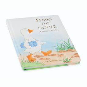 Jellycat Book -  James The Goose Learns To Swim | James Anthony Collection