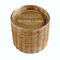 Hillhouse Naturals Belgian Linen Handwoven 2 Wick Candle | James Anthony Collection