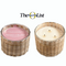 Hillhouse Naturals Peony Blush Handwoven Candle 3 Wick 21oz. | James Anthony Collection