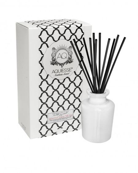 Aquiesse White Coral Musk - Apothecary Reed Diffuser Gift Set