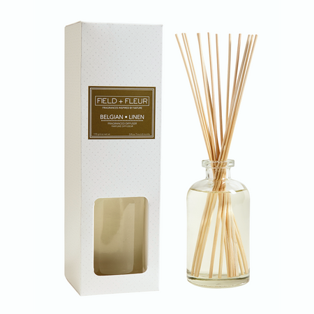 Hillhouse Naturals Belgian Linen Diffuser | James Anthony Collection