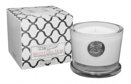 Aquiesse White Coral Musk - Small Soy Candle Gift Box