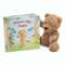 Jellycat Bumbly Bear Shown with Where's My Teddy Book | James Anthony Collection