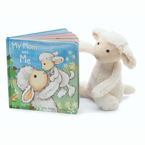 Jellycat Books & Friends - My Mom & Me /w Bashful Lamb Plushie | James Anthony Collection