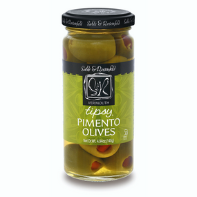 Sable & Rosenfeld Vermouth Tipsy Olives | James Anthony Collection