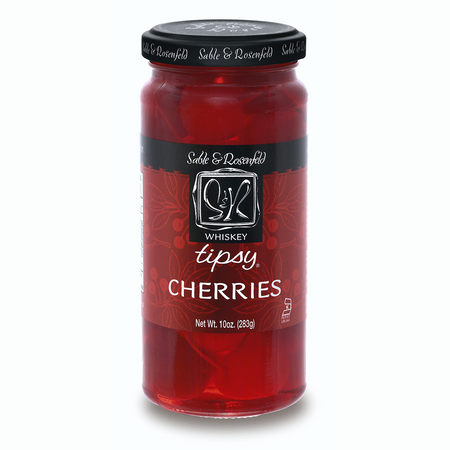 Sable & Rosenfeld Whisky Tipsy Cherries | James Anthony Collection