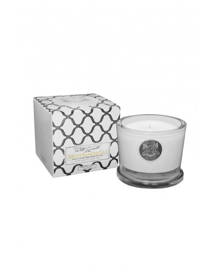 Aquiesse White Ginger Lily - Small Soy Candle Gift Box