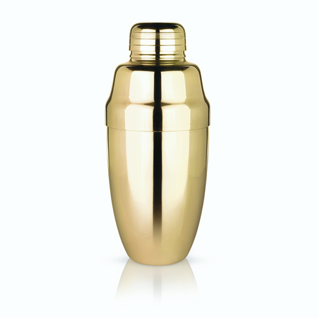 Viski Belmont Gold Heavyweight Cocktail Shaker | James Anthony Collection