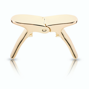Viski Belmont Gold Champagne Puller | James Anthony Collection