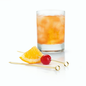 Viski Belmont Gold Cocktail Pick Set | James Anthony Collection
